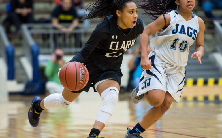 #ok3sports, high, school, basketball, ok3sports, san antonio, girls, clark lady cougars, clark girls basketball, clark high school, johnson lady jaguars, johnson girls basketball, johnson high school, Ta'Niya Jackson, Jessica Paz Y Puente, deja kelly